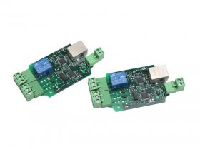 BEM403 LAN/Internet 2ch peer to peer analog board pair