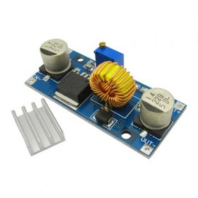 DC-DC Step Down Adjustable Power Supply Module Charger 4-38v 5A