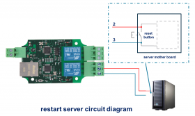 BEM104 server remote reboot swtich and auto ping monitor